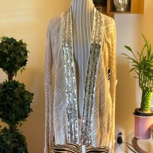 Tory Burch Sequined Cardigan